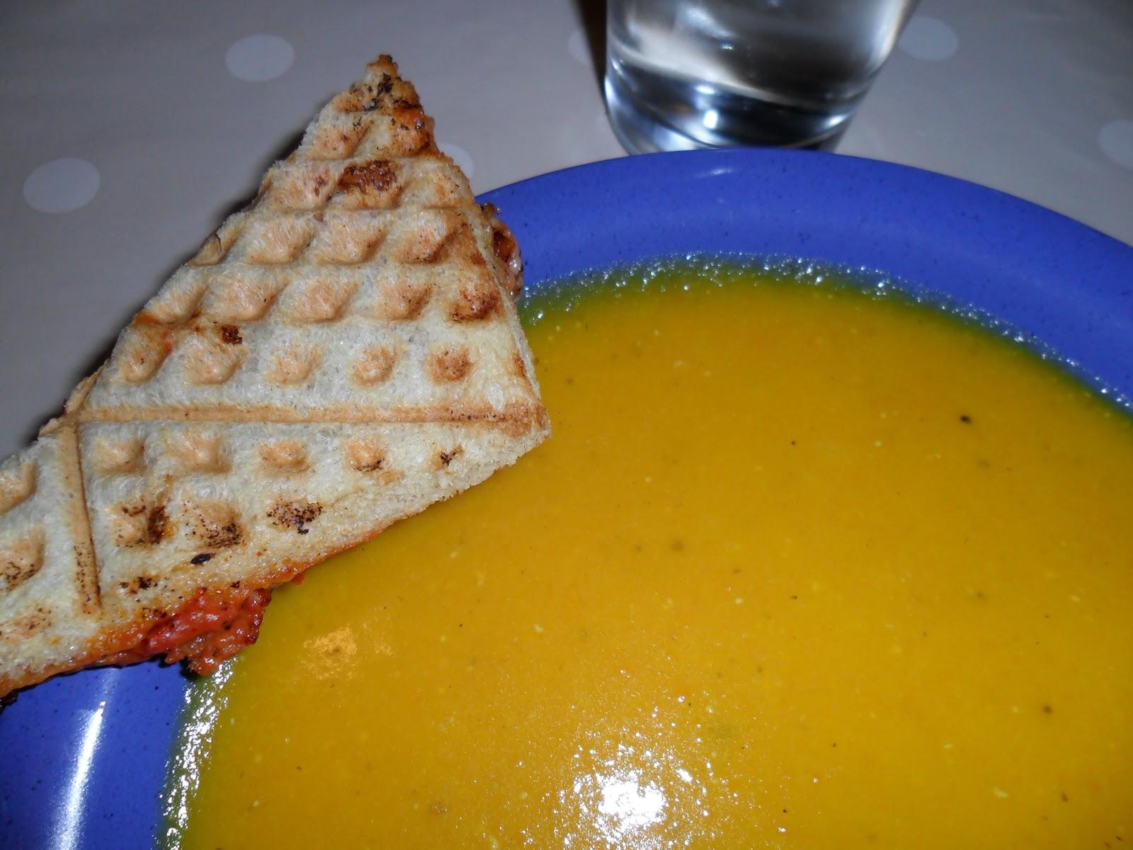 morotssoppa ingefära och chili