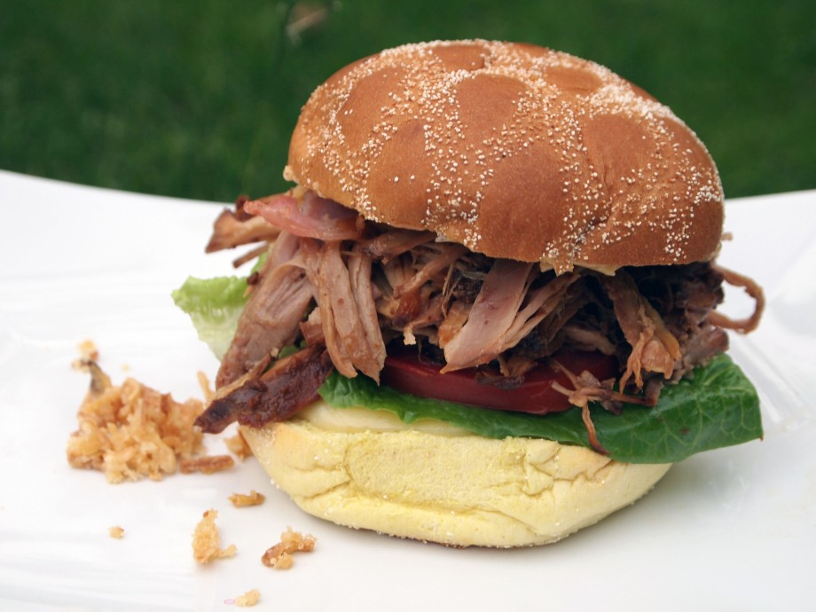 Pulled Pork Burger by Nordefors